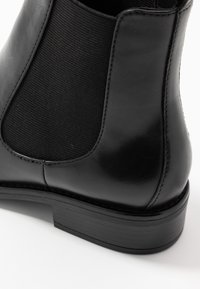 Anna Field - LEATHER CHELSEAS - Classic ankle boots - black - 2