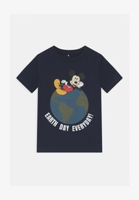 Name it - DISNEY MICKEY MOUSE NIKS - T-shirt con stampa - dark sapphire - 0