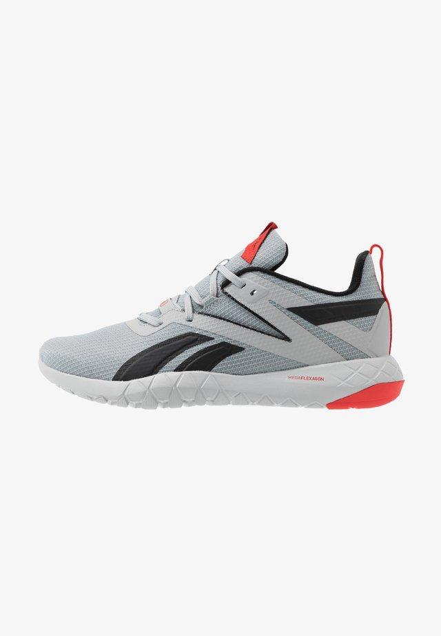 MEGA FLEXAGON - Zapatillas de entrenamiento - grey/red/black