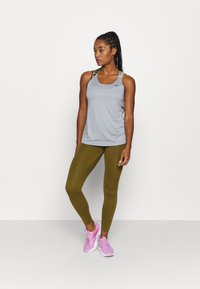Nike Performance - TANK - Sports shirt - particle grey/black - 1