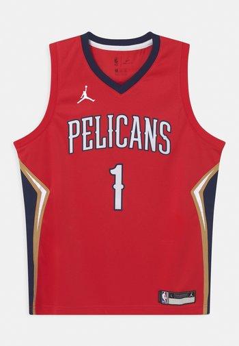 NBA NEW ORLEANS PELICANS ZION WILLIAMSON BOYS - Klubbkläder - red