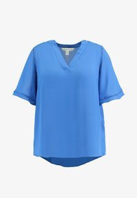 CAPSULE by Simply Be - LADDER INSERT TUNIC - Bluser - cobalt blue - 4