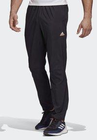 adidas Performance - ADAPT JOGGERS - Träningsbyxor - black - 0