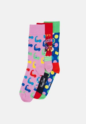 MOTHERS DAY SOCKS GIFT UNISEX 3 PACK  - Calze - multi-coloured