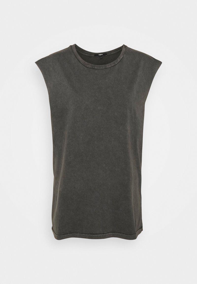Tigha - RAMIS - Basic T-shirt - vintage stone grey