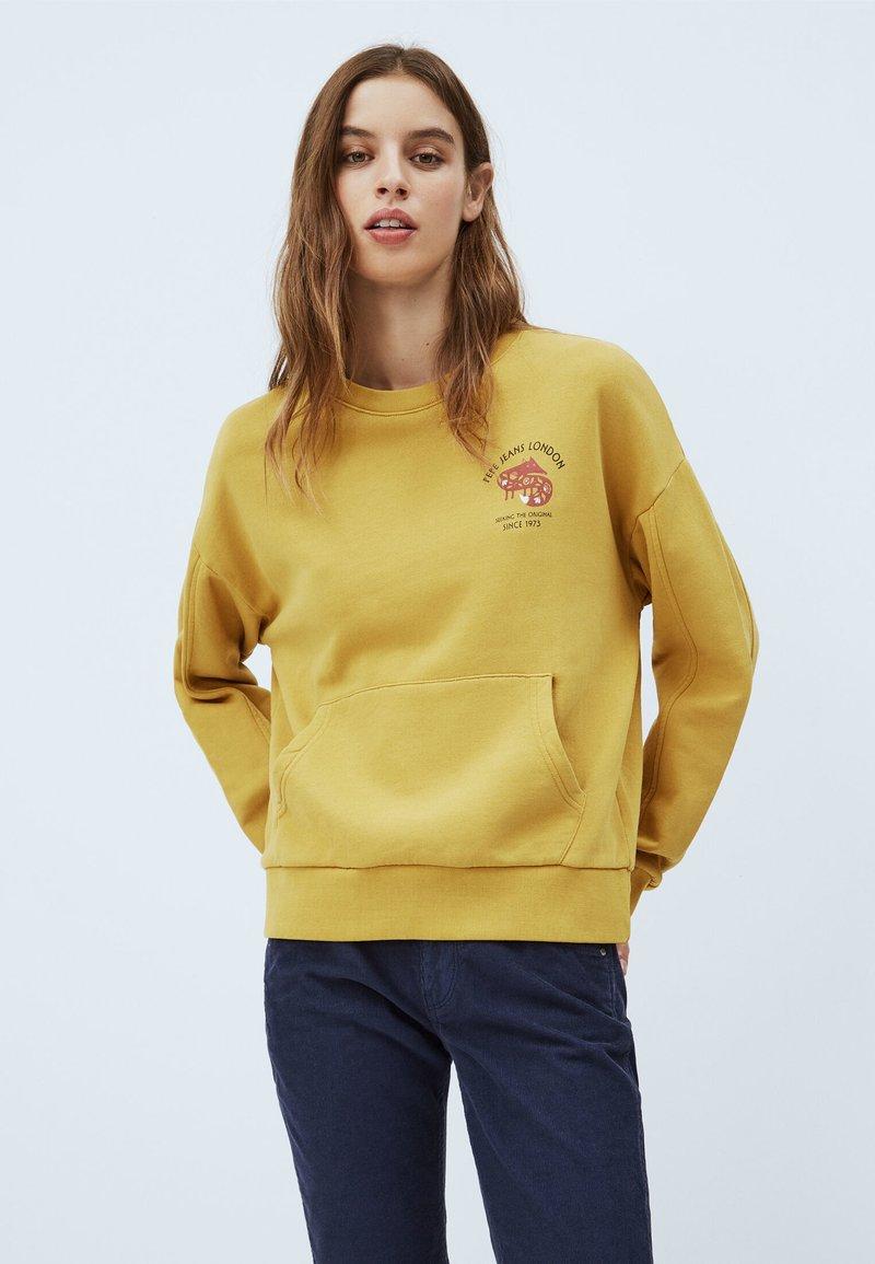 Pepe Jeans - MONA - Sweatshirt - colemans gelb