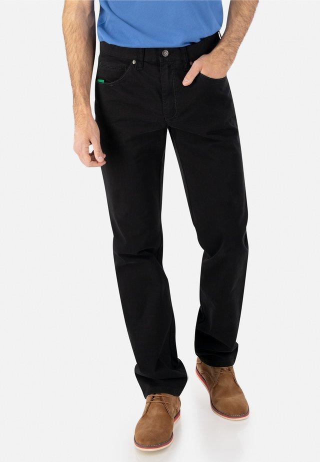Straight leg jeans - schwarz 10