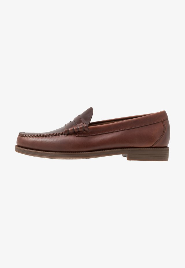 EASY WEEJUN LARSON PULL UP - Loaferit/pistokkaat - dark brown
