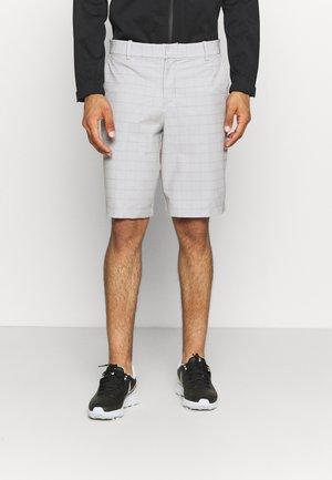DRY FIT HYBRID PLAID SHORT - Sports shorts - dust/photon dust