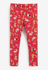 Next - CHRISTMAS  - Leggings - Trousers - red - 1