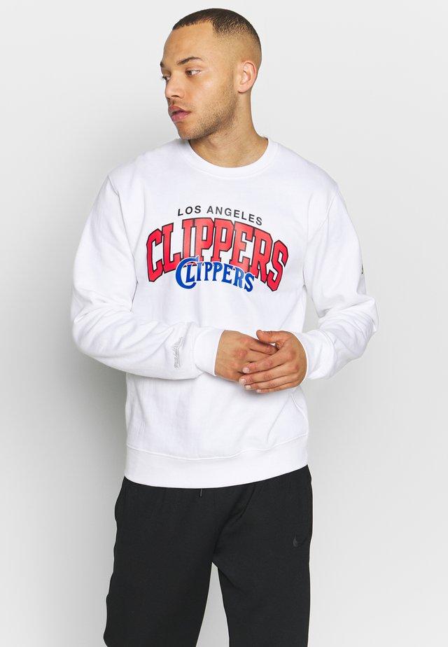 NBA LA CLIPPERS LOGO  - Klubbklær - white
