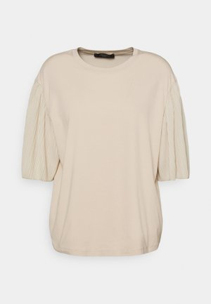 BUGIA - T-shirt con stampa - sand