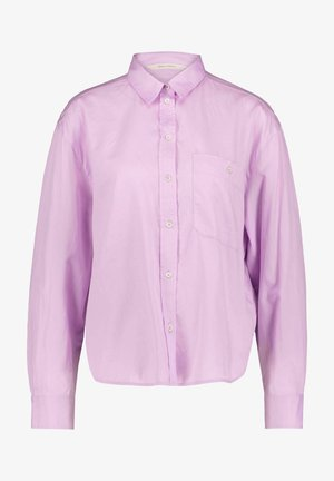 Button-down blouse - lila