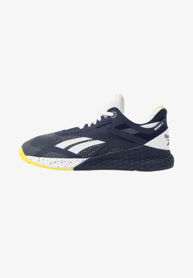 NANO X - Chaussures d'entraînement et de fitness - vector navy/white/chartreuse