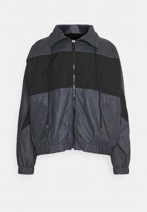 JACKET KANSAS - Leather jacket - magnet