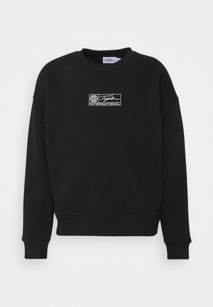 BARCODE GRAPHIC  - Sweatshirt - black