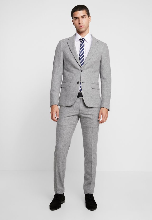 COHLE SLIM SUIT SET - Suit - grey