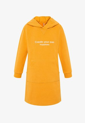 Jumper dress - yellow