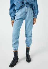 PULL&BEAR - Jeansy Relaxed Fit - blue-grey - 0