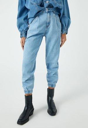 Relaxed fit jeans - blue-grey
