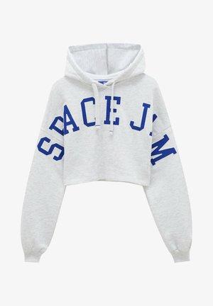 CROPPED SPACE JAM - Hoodie - grey