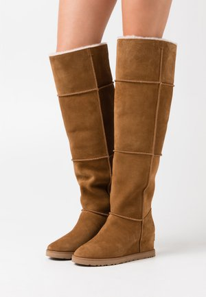 CLASSIC FEMME  - Cuissardes - chestnut