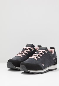 CMP - KIDS ELETTRA LOW SHOES WP - Hiking shoes - antracite/pastel pink - 3