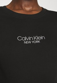 Calvin Klein - SLIM FIT 2 PACK - Print T-shirt - black/black - 5