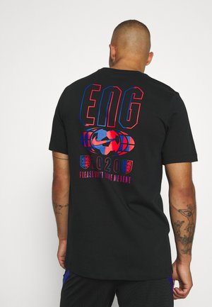 ENGLAND ENT TEE TRAVEL - National team wear - black