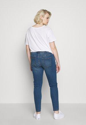 BASIC - Jeans Skinny Fit - blue denim