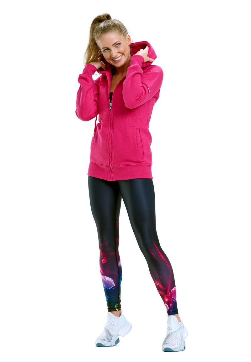 Winshape - Zip-up sweatshirt - deep pink