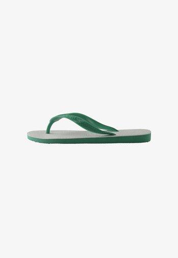 TRADICIONAL - Chanclas de dedo - white, green