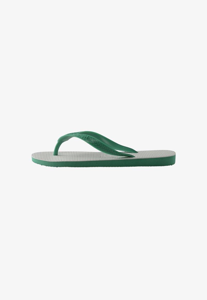 Havaianas - TRADICIONAL - Pool shoes - white, green