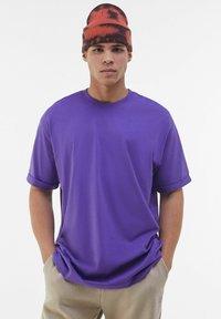 Bershka - T-shirt - bas - mauve - 0