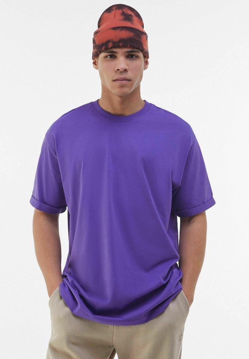 Bershka - T-shirt - bas - mauve