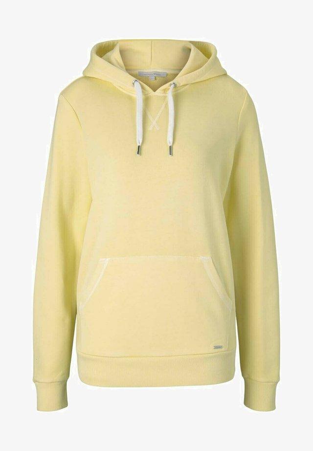 Hoodie - soft yellow