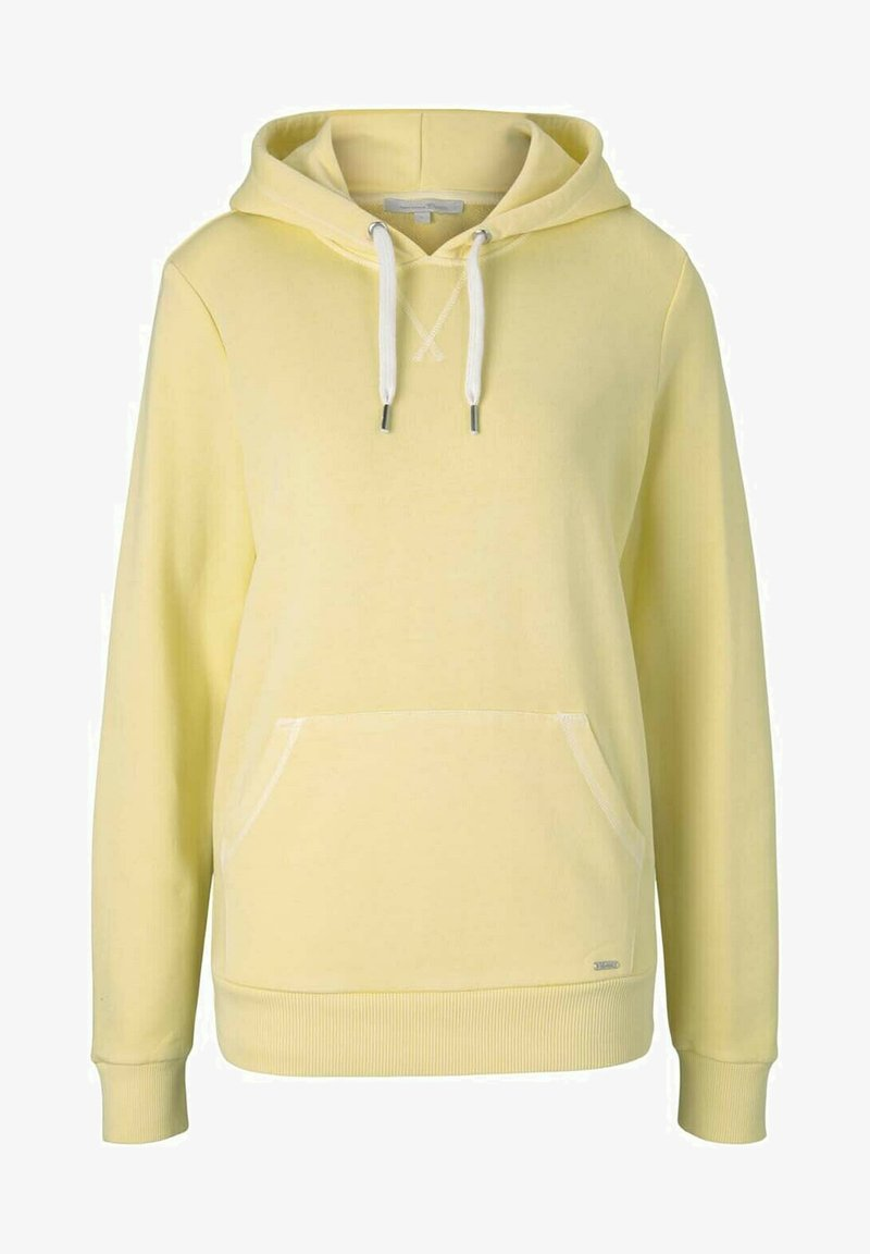 TOM TAILOR DENIM - Hoodie - soft yellow