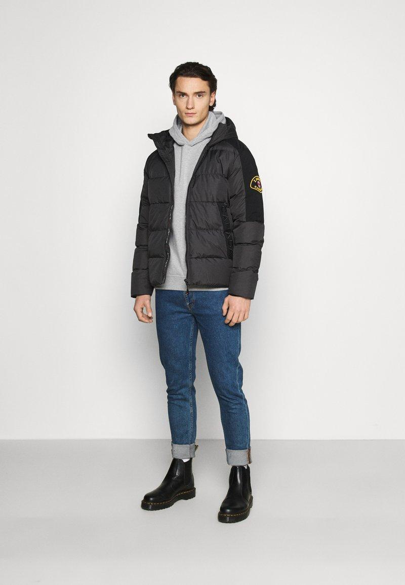 Burton Menswear London - HOOD 2 PACK - Hoodie - navy