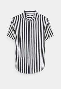 Zign - UNISEX - Button-down blouse - dark blue/white - 0