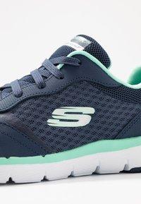 Skechers Sport - FLEX APPEAL 3.0 - Trainers - navy/aqua - 2