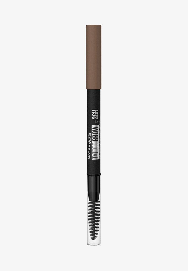 Maybelline New York - TATTOO BROW 36H - Eyebrow pencil - 6 ash brown