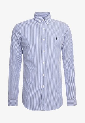 NATURAL SLIM FIT - Shirt - blue/white bengal