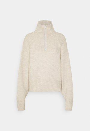FONDA SWEATER - Strikpullover /Striktrøjer - off-white