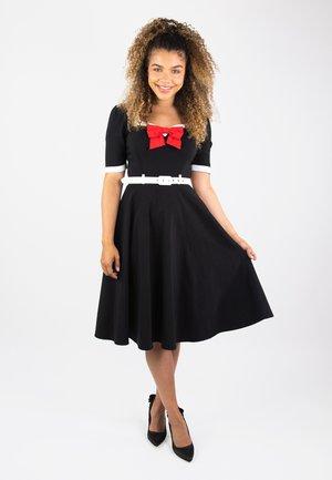 SADIE - Cocktail dress / Party dress - black / white / red