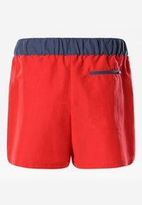 The North Face - W CLASS V SHORT - Sports shorts - horizon red/vintageindigo - 1