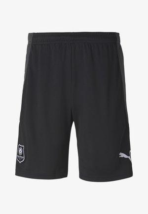 kurze Sporthose - puma black-asphalt