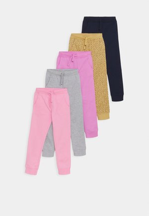 5 Pack - Pantalon de survêtement - purple/pink/grey/blue