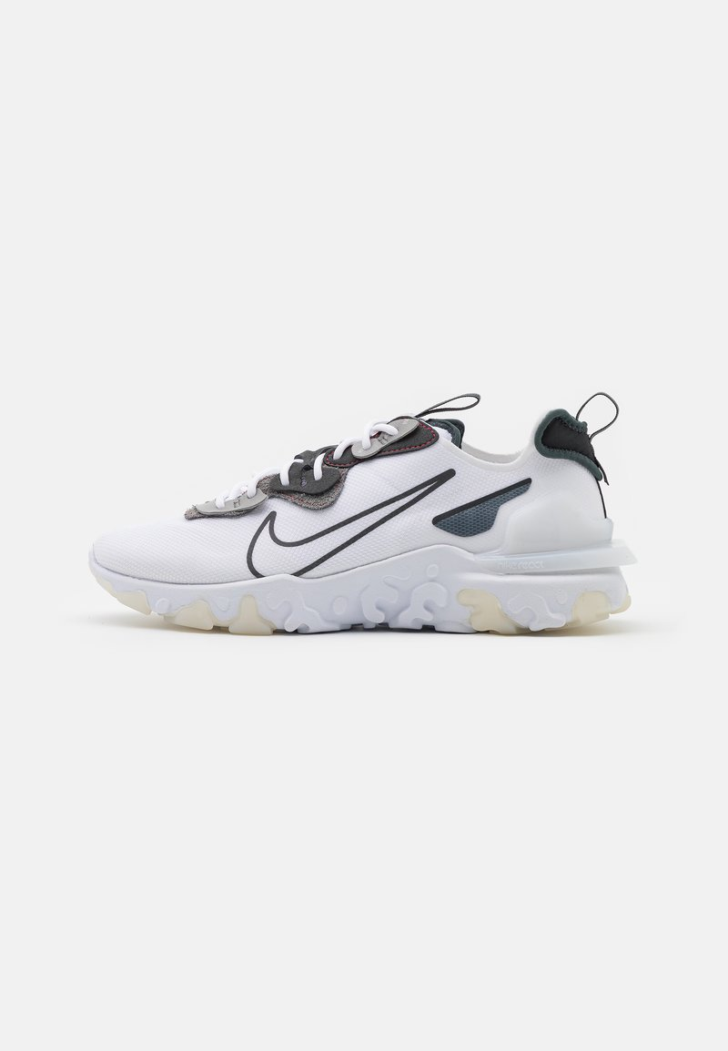 Nike Sportswear - REACT VISION 3M - Sneakers - white/anthracite/university red