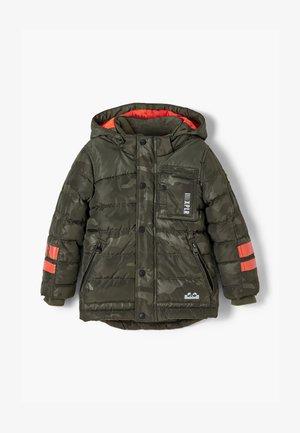 Winter jacket - olive aop