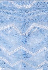 Coco de Mer - MARGOT BRAZILIAN KNICKER - Underbukse - sky blue - 2